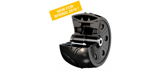 New 280x170 wheel with cleats (CS)